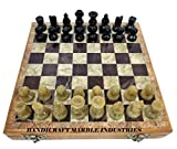 Harmon Chess, Borgov Chess, Gotham Chess, Wooden Chess Board With Marble Chess Pieces, Best Chess Players Of All Time, Ready To Dispatch