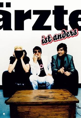1art1 40471 Die Ärzte - Jazz ist Anders Poster (91 x 61 cm)