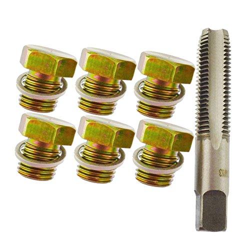 Le bouchon du carter de vidange d'huile/Kit de réparation/Rethreader M12 - M13 Thread Une044