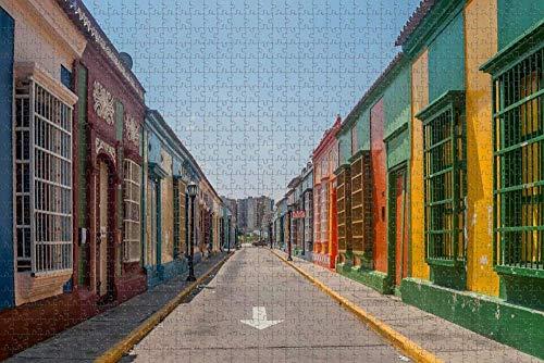 Rompecabezas para Adultos Venezuela Maracaibo Puzzle 1000 Piezas Recuerdo de Viaje de Madera