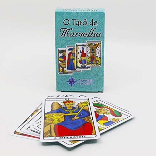 Baralho Tarô de Marselha Mandala Esóterica