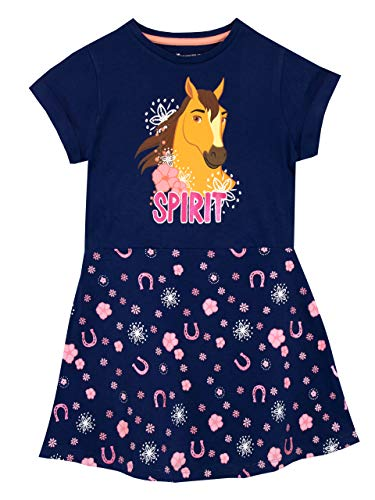 DreamWorks Girls' Spirit Riding Free Dress Size 6 Blue