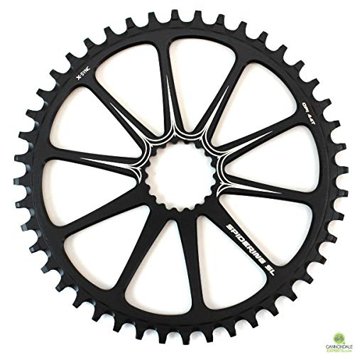 Cannondale X-Sync Spidering Fahrrad Kettenblatt 10 Arm 44 Zähne schwarz