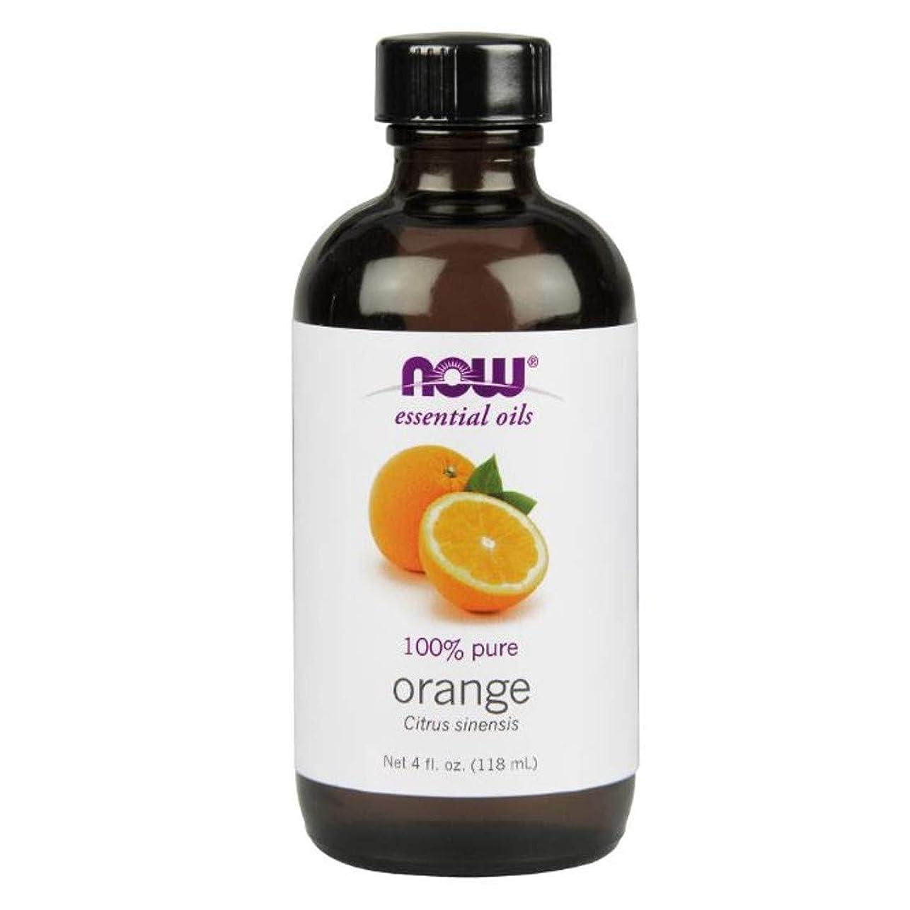 推定するひらめき確かめるNow - Orange Oil 100% Pure 4 oz (118 ml) [並行輸入品]
