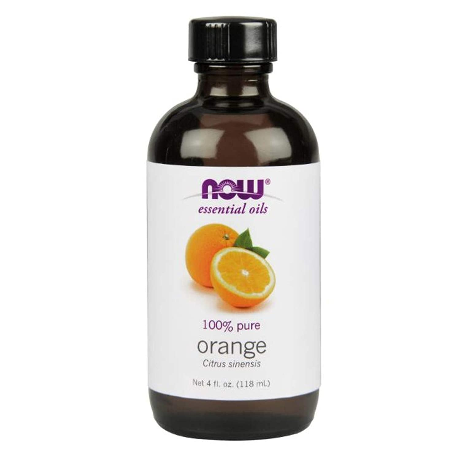 壁フォーク欠如Now - Orange Oil 100% Pure 4 oz (118 ml) [並行輸入品]