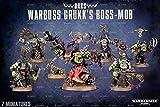 Warhammer 40,000 Ork Warboss Grukk's Boss-mob