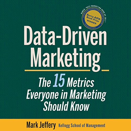 Data-Driven Marketing audiobook cover art
