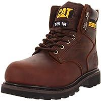 Caterpillar Men's Second Shift Steel Toe Work Boot (various sizes in Dark Brown)