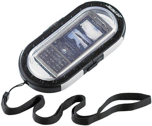 Somikon Handy Unterwassergehäuse: wasserdichte Universal-Tauchgehäuse für Handys bis 10 Meter (Unterwassergehäuse für Smartphone)