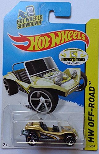 Mattel 2014 Hot Wheels Meyers Manx 50 Years Hw Off-Road - Meyers Manx by