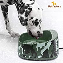 Petfactors Heated Pet Bowl, Outdoor 1-Gallon Pet Thermal Water Bowl, Dog Cat Heated Water Bowl with 69 Inch Chew Resistant Cord and Waterproof ON/Off Switch