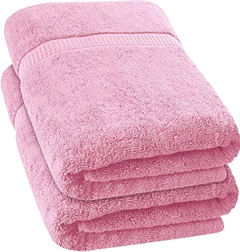 Utopia Towels - 2 Toallas de baño Grandes (90 x 180 cm) (Rosa) 🔥