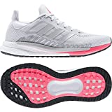 adidas mens Solar Glide 3 Running Shoe, Grey/Silver/Signal Pink, 7.5 US