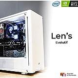 Len's Evolutive D7 - PC Gamer | Intel Core i7 9700K - Msi RTX 2080 Ventus - 16 GB DDR4 - 480 GB SSD + 2 TB HDD - Ventirad Msi -WiFi - W10 Pro (montado y probado en Francia)