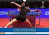 Tischtennis - Der am schnellsten gespielte Sport der Welt (Wandkalender 2021 DIN A4 quer): Rasanz, Dynamik, Koordination, Kampf - dieser Sport bietet alles! (Monatskalender, 14 Seiten )