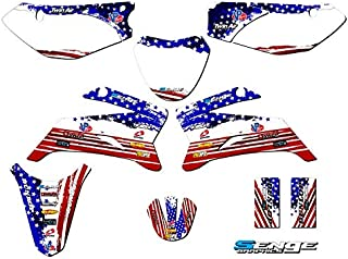 Compatible with Yamaha 2008-2019 TTR 110, Merica Complete Graphics Kit