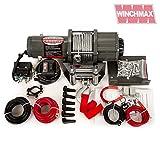Winchmax 4.000 libbre (1.814 kg) Verricello con Accessori Multifunzione Opzionali...