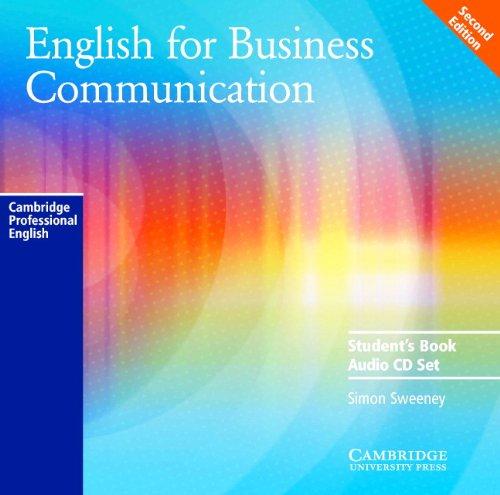 English for Business Communication Audio CD Set (2 CDs) (Cambridge Professional English)