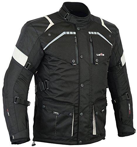 LOVO Chaqueta 3/4 para moto (Hombre) (5XL)