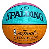 Game Master NBA San Antonio Spurs Mini Team Basketball, Retro Design , Black , 7'