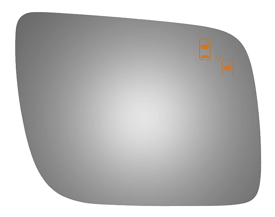 Burco 5484B Convex Passenger Side Power Replacement Mirror Glass (Mount Not Included) for 11-16 Ford Explorer (2011, 2012, 2013, 2014, 2015, 2016) - Parts Link #: FO1323A57