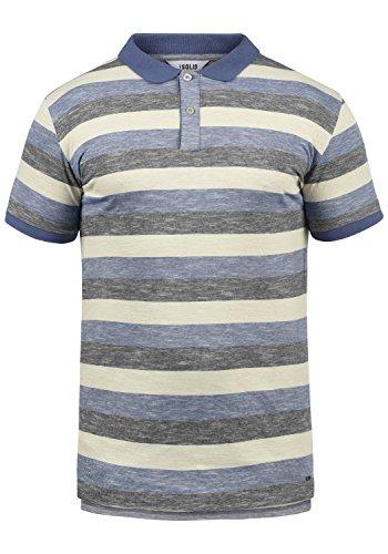 !Solid Mhicco Herren Poloshirt Polohemd T-Shirt Shirt Mit Polokragen 100% Baumwolle, Größe:XXL, Farbe:Marlin (2800)