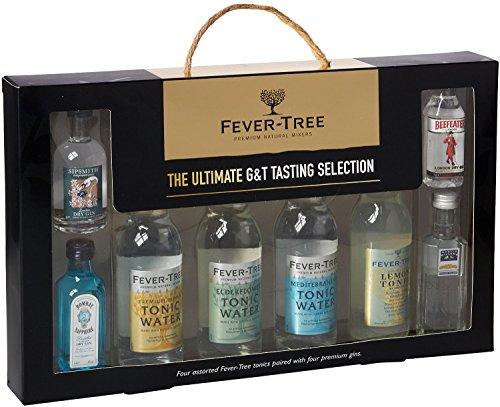 Fiebre Árbol Ultimate Collection (Juego de 8 botellas de Gin y Tonic)