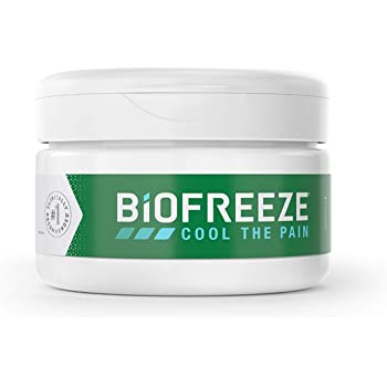 Biofreeze Arthritis Pain Relief Cream, Fast Acting, Long Lasting and Powerful Topical Pain Reliever, 3 oz. Jar