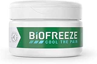 Biofreeze Arthritis Pain Relief Cream, Fast Acting, Long Lasting, & Powerful Topical Pain Reliever, 3 oz. Jar