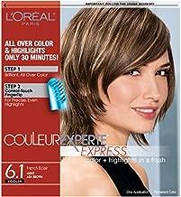 L'Oreal Paris Couleur Experte 2-Step Home Hair Color & Highlights Kit, French Éclair