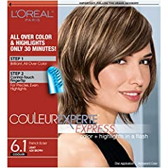 FAST COLOR & HIGHLIGHTS AT HOME: Couleur Experte is the only at-home dual-system hair coloring kit that combines permanent base color & harmonizing highlights in one box for quick & easy application. 2 EASY STEPS: Thanks to perfectly coordinated shad...