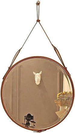 03f06c4484d3 LPYMX Specchio da Parete Specchio da Bagno Regolabile in Altezza (Colore :  Brown)