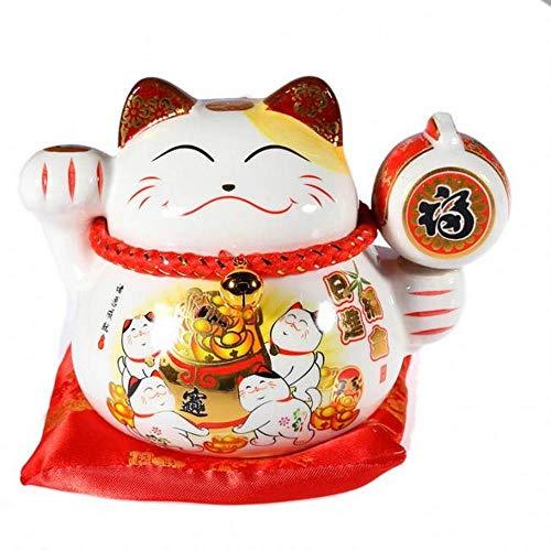 lachineuse Chat Japonais Kawaii - Maneki Neko Porte Bonheur