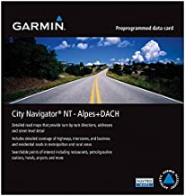 Garmin City Navigator 2016 Germany/Austria/Switzerland/Liechtenstein/Northern Italy/Eastern France Map microSD Card