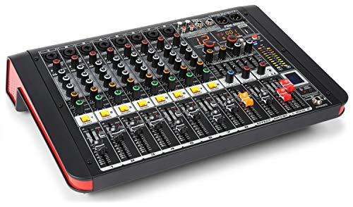 Power Dynamics PDM-M804A Mesa de mezclas 8 entradas para mic