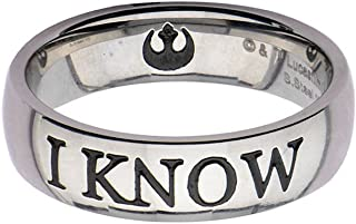 Star Wars I Know Stainless Steel Ring