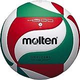 Molten Volleyball BGR7-VY Balles de Volley Blanc/Vert/Rouge 5