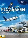 Auf dem Flughafen geht's rund - mit großem, farbigem Flugzeug-Poster: Was es zu entdecken gibt