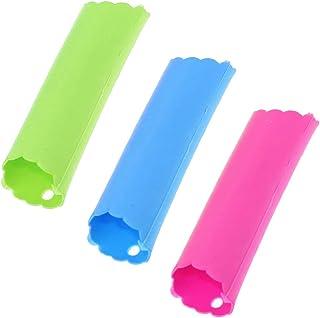 SRTYZ 12PCS Pela Ajos Silicona Peeling Tubo Herramienta no Tóxica Fácil Utiles Utensilios Accesorios de Pelar Ajo Gadgets ...