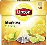 Lipton Schwarzer Tee 20 Pyramidenbeutel x 3