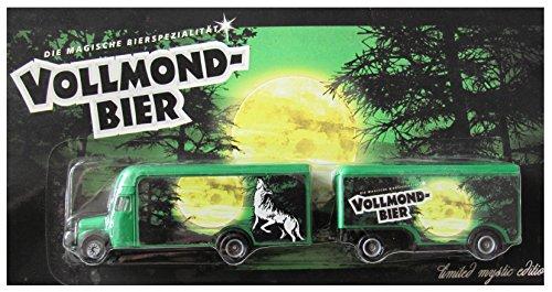 Wolfshöher Nr.54 - Vollmond Bier - MB L311 Koffer - Hängerzug Oldie