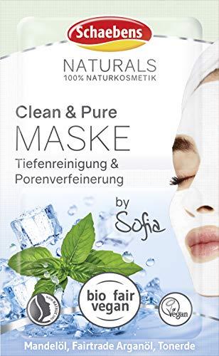 Schaebens NATURALS Clean & Pure Maske, 10 ml, 10 ml