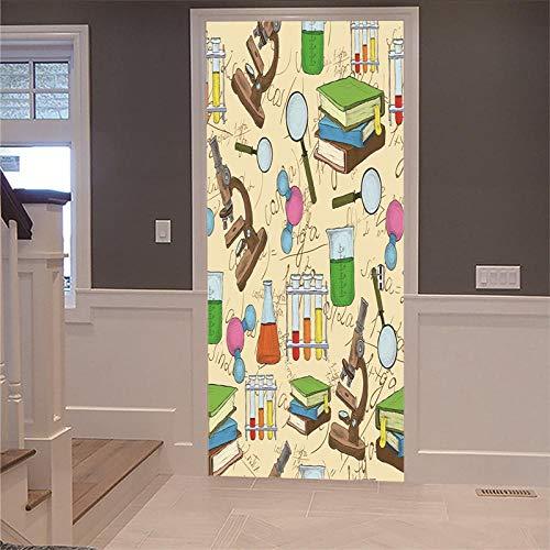Muurstickers voor muren van papier, voor de reparatie van 3D-thuiswerken, van antiek hout, voor het midden van de chemische plafond, decoratie voor binnen, afneembaar 88x200cm