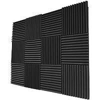 12-Pack Foamily Studio Foam Wedges Acoustic Panels