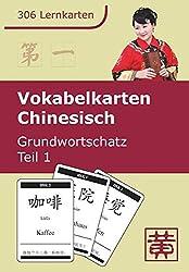 Vokabelkarten Chinesisch - Grundwortschatz - Teil 1