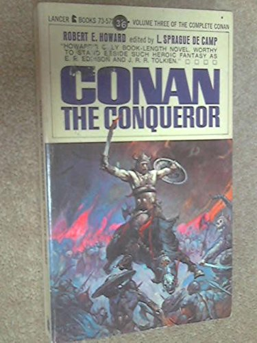 Conan The Conqueror 0441116795 Book Cover