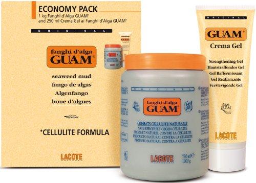 Guam Convenienza Fanghi Alga Classico Anti Cellulite 1Kg + Crema Gel 250 ml