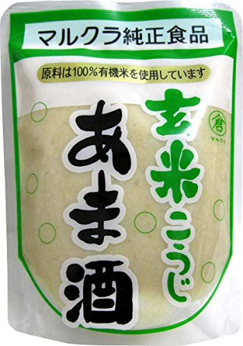 マルクラ 玄米あま酒 有機米使用