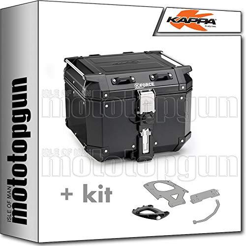 kappa maleta kfr420b k'force 42 lt + portaequipaje monokey compatible con honda silver wing 600 / abs 2002 02