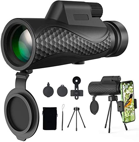 Benewell 12X50 Monocular Telescope Day and Low Night Vision Waterproof Zoom Telescope High Power product image